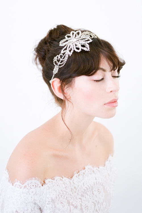 Anatolia Bridal Headband by Bride La Boheme