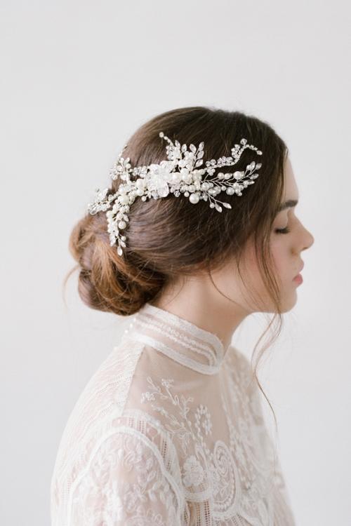 Romantic Wedding hair Accessories by Bride La Boheme