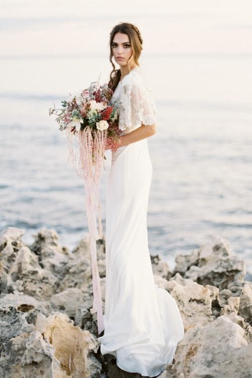 Romantic Wedding Cover up by Bride La Boheme
