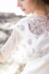 Gold and Silver Bridal Cover up by Bride La Boheme