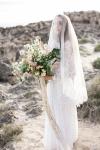 French Lace Bridal Veil by Bride La Boheme
