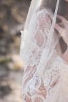 French Lace Ivory Veil by Bride La Boheme