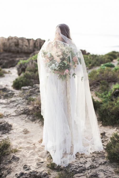 Cathedral Lace Veil by Bride La Boheme