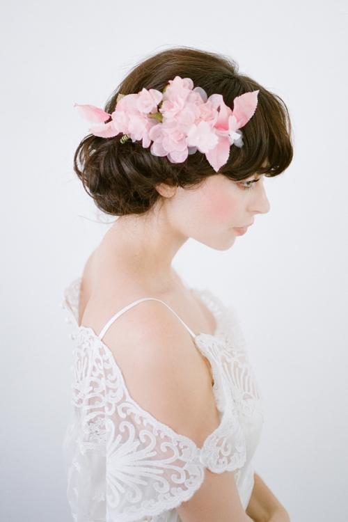 Nymph Floral Hair Piece by Bride La Boheme